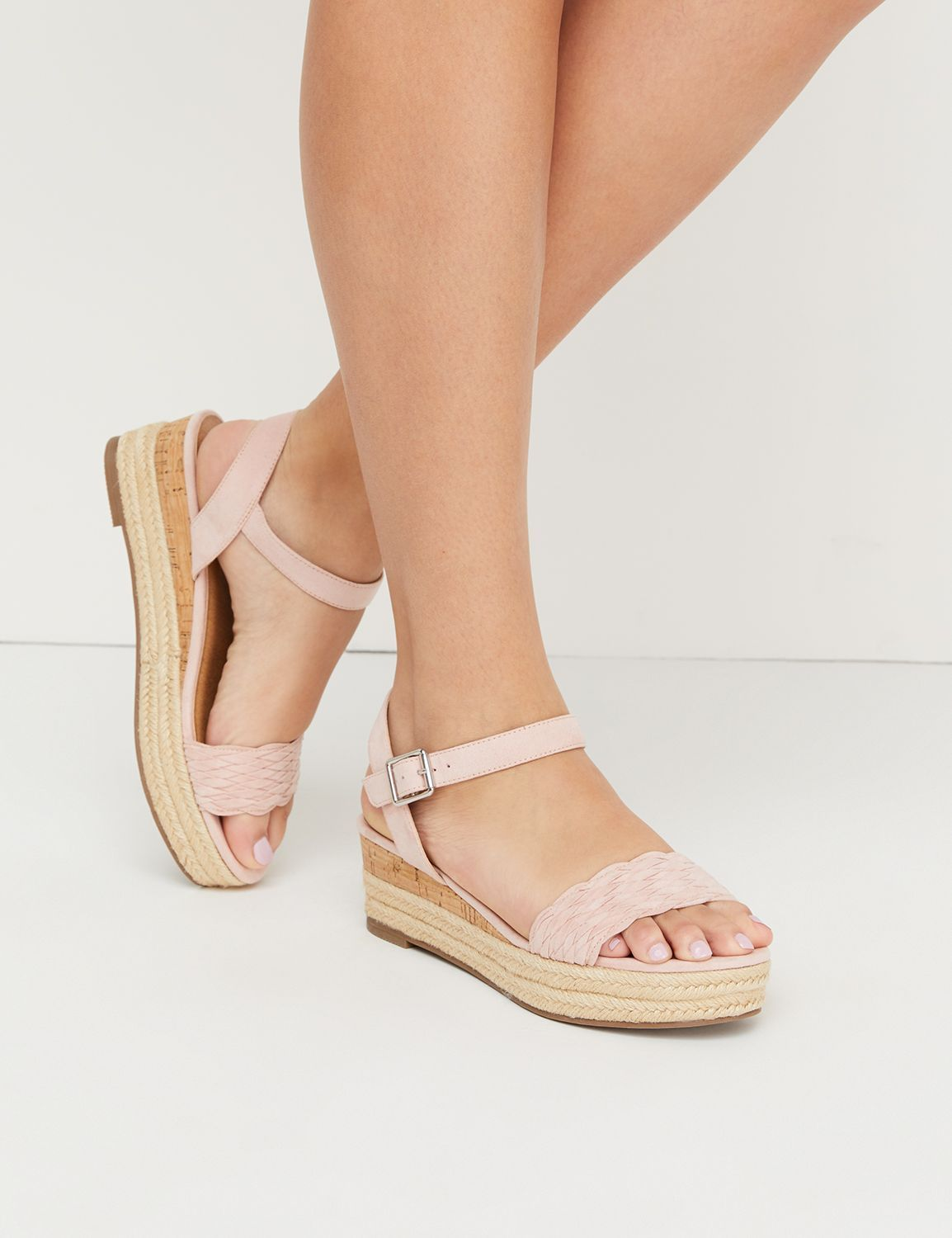 d777a23412fa Espadrille Ankle-Strap Wedge Sandal in 2019