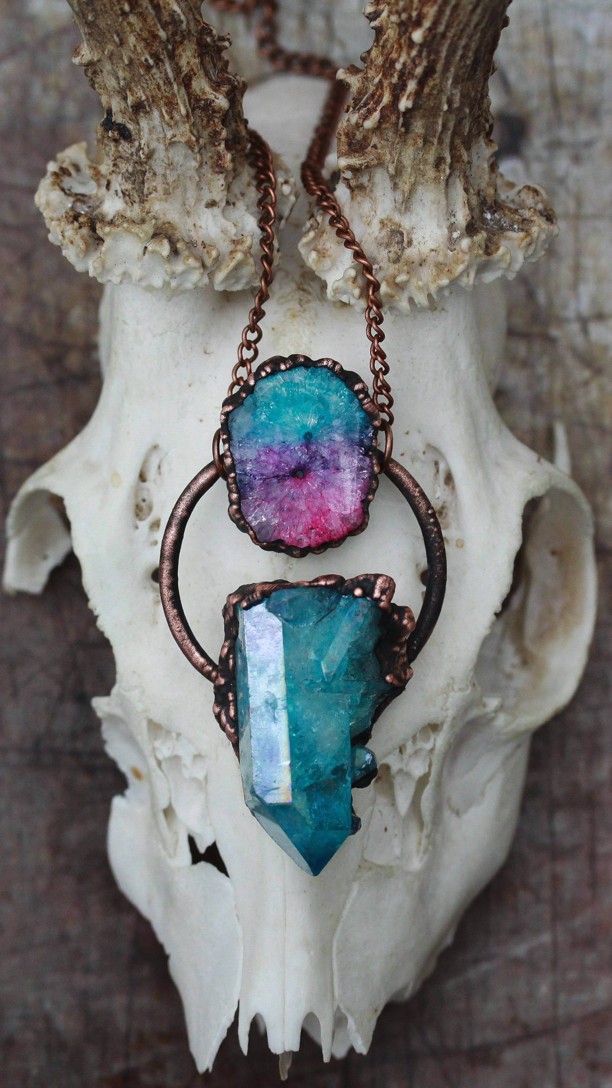 Photo of Eden & After | UK Based Copper Electroformed Raw Crystal Jewellery