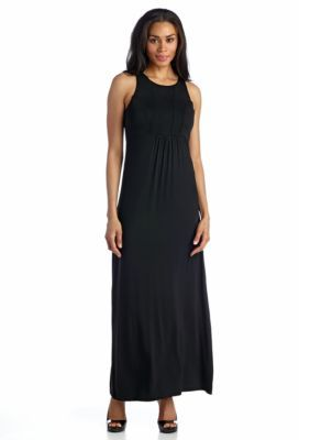 Grace Elements  Front Seam Maxi Dress