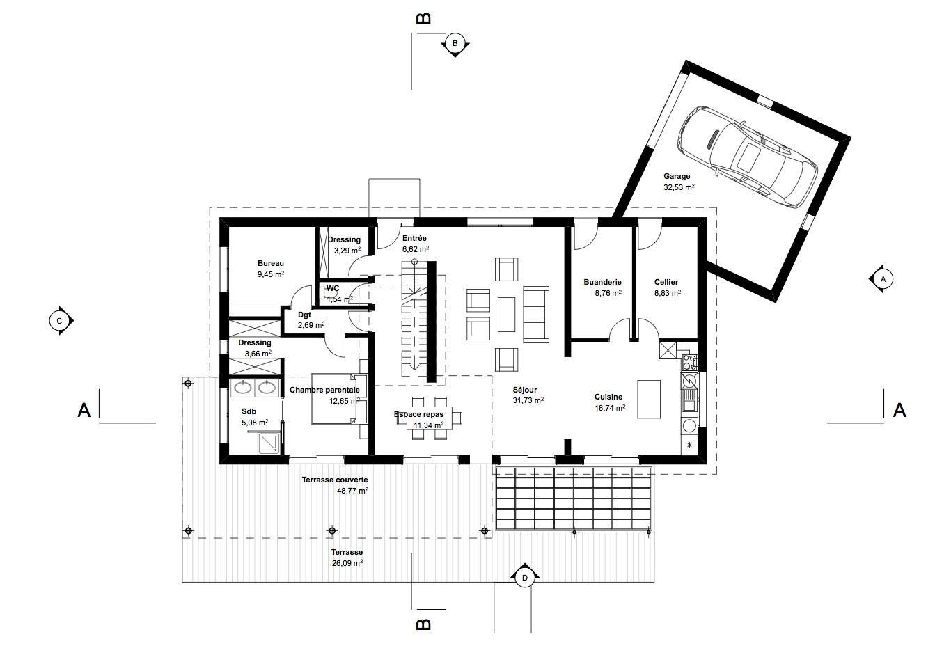 Maison Lorraine Avec Images Plans De Maison Traditionnelle Plan Maison Maison Traditionnelle
