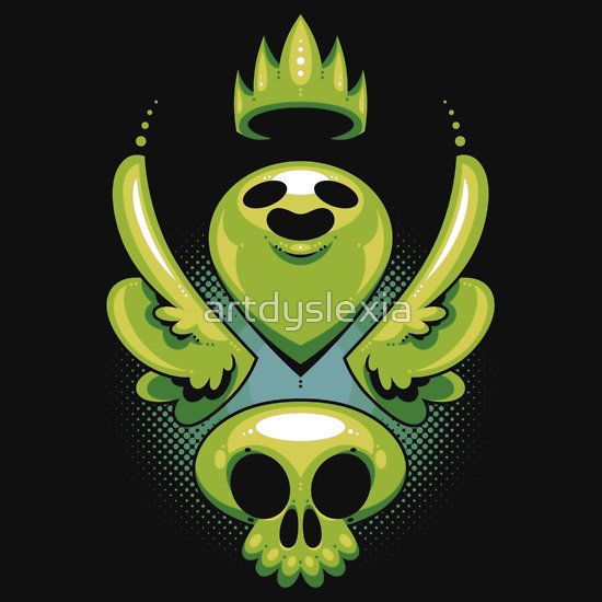 Soul King T-shirt by Artistic Dyslexia. artisticdyslexia.com Also available in Adult and Children's Apparel; Leggings; Prints, Posters and Cards; Stickers; iPhone, iPod, iPad and Samsung Cases; iPhone and iPad Skins; Throw Pillows; Mugs; Travel Mugs; Duvet Covers and Tote Bags!
