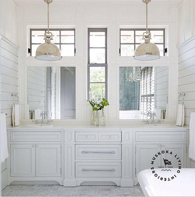 Shiplap Bathroom Vanity: If You Love Farmhouse, Shiplap, Vintage, Farm Sinks, Tile