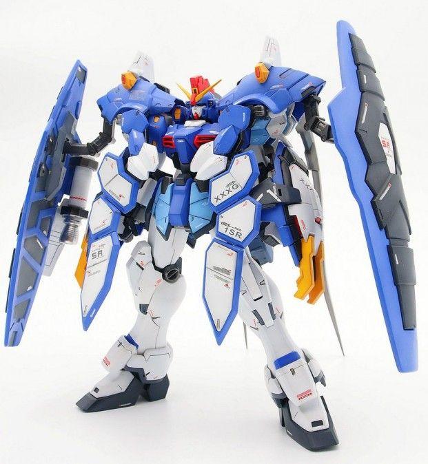 Custom Build Mg 1 100 Gundam Sandrock Armadillo Gundam Mobile Suit Gundam Wing Custom Gundam