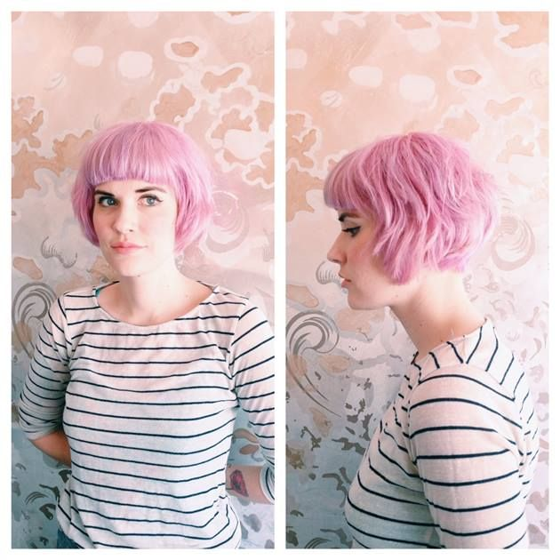 In The Pink Formula And How To For An Aveda Pastel Pink Aveda Hair Hair Color Pink Aveda Hair Color