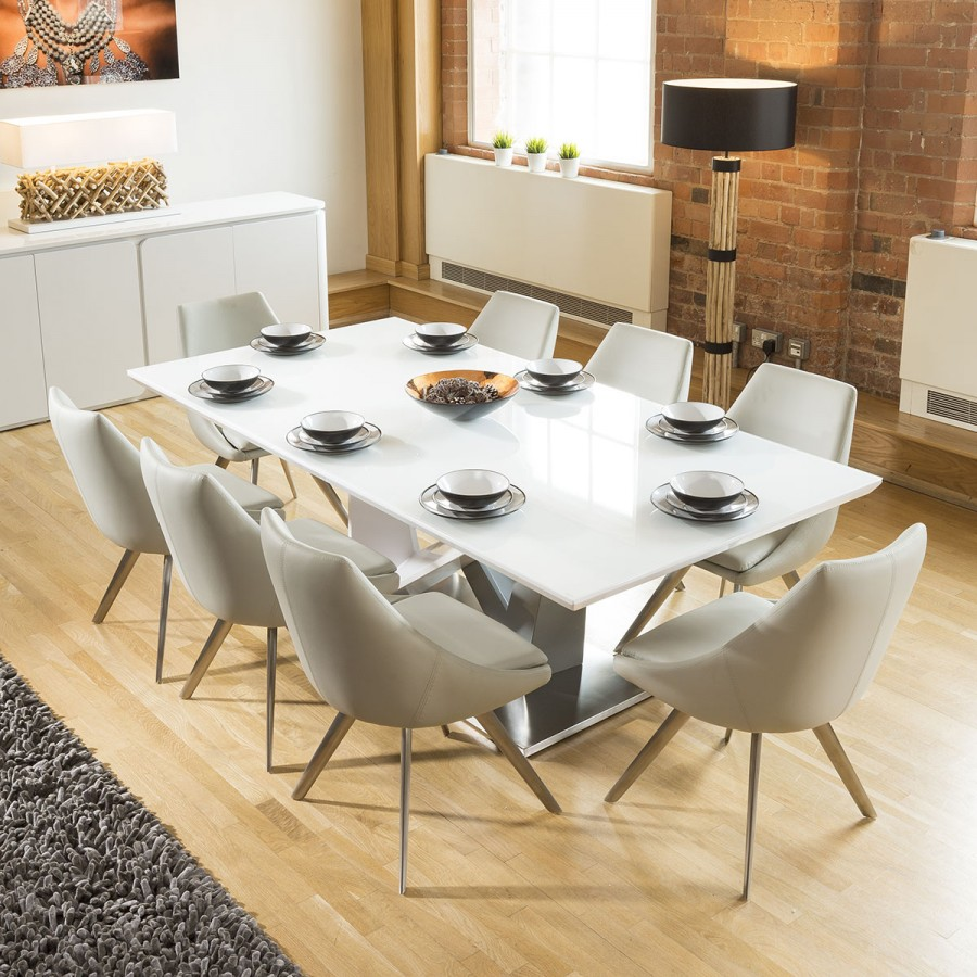 8 Seater Dining Table Google Search Glass Top Dining Table Dining Table Marble Dining Sets Modern