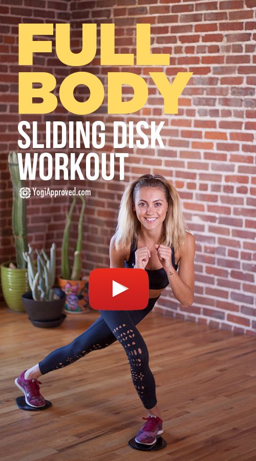 13-Minute Core Slider Abdominal Strengthening Tutorial (Video) Thigh  Workouts, Thigh Exercises