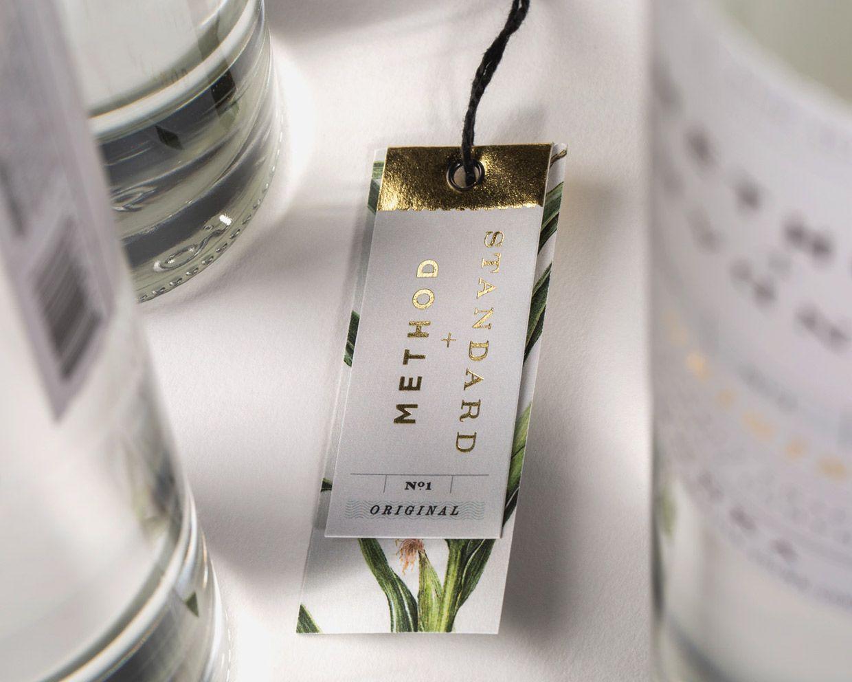 Method + Standard Vodka on Packaging of the World - Creative Package Design…