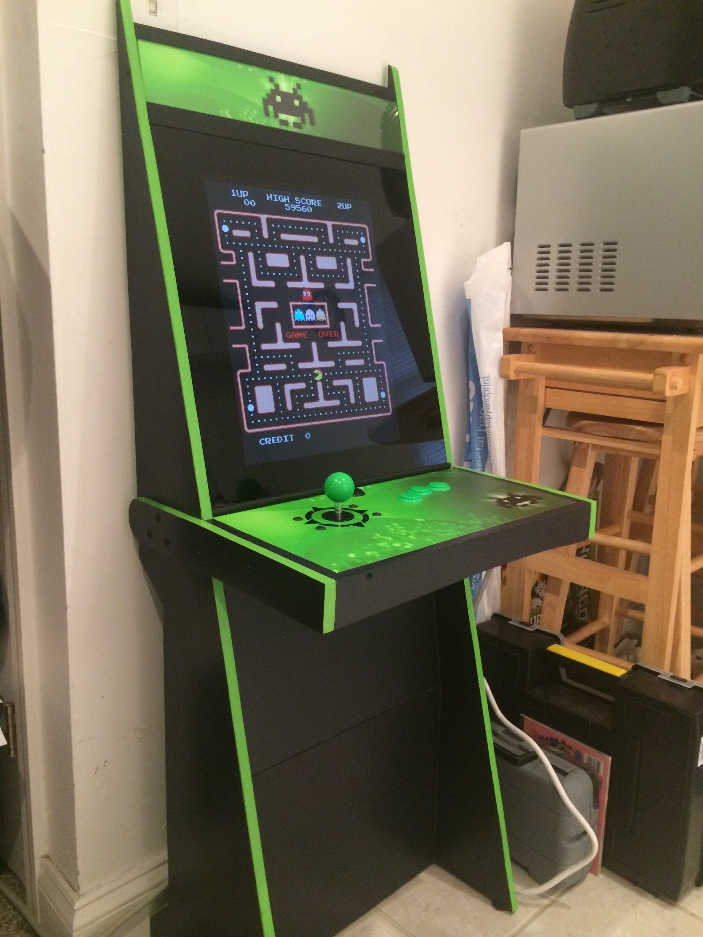 Image Result For Arcade Cabinet Plans