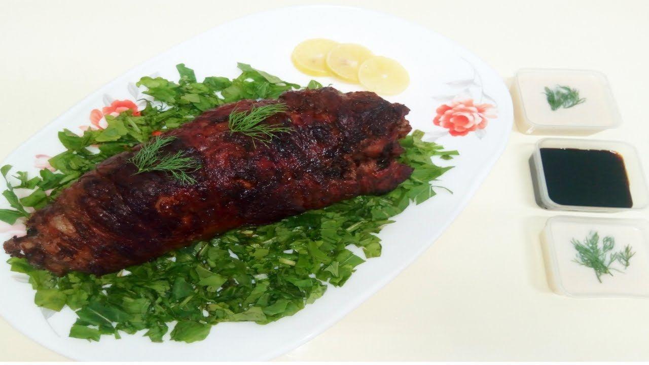 طريقة عمل روستو ضلوع الغنم المخلية من العظم في فرن البيت Oven Roasted Food Meat Steak