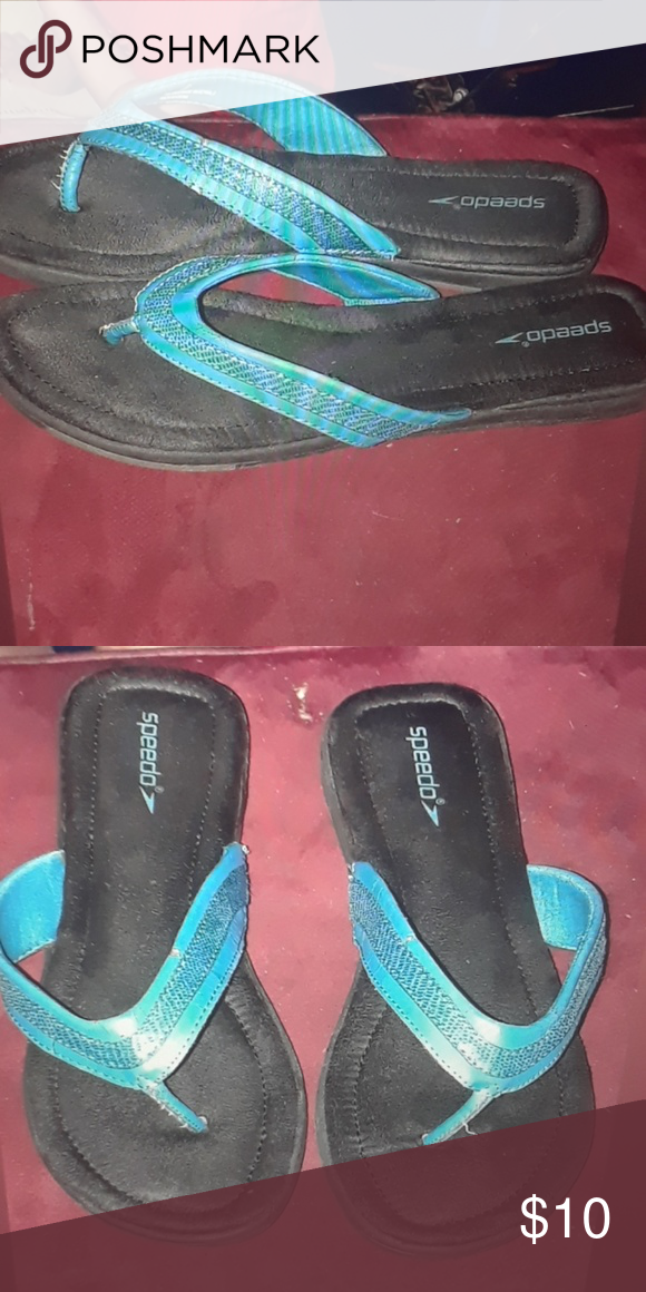 d9696f6d2c1cc5 Speedo thong flip flops women s sz8 Pre loved good condition Speedo Shoes  Sandals