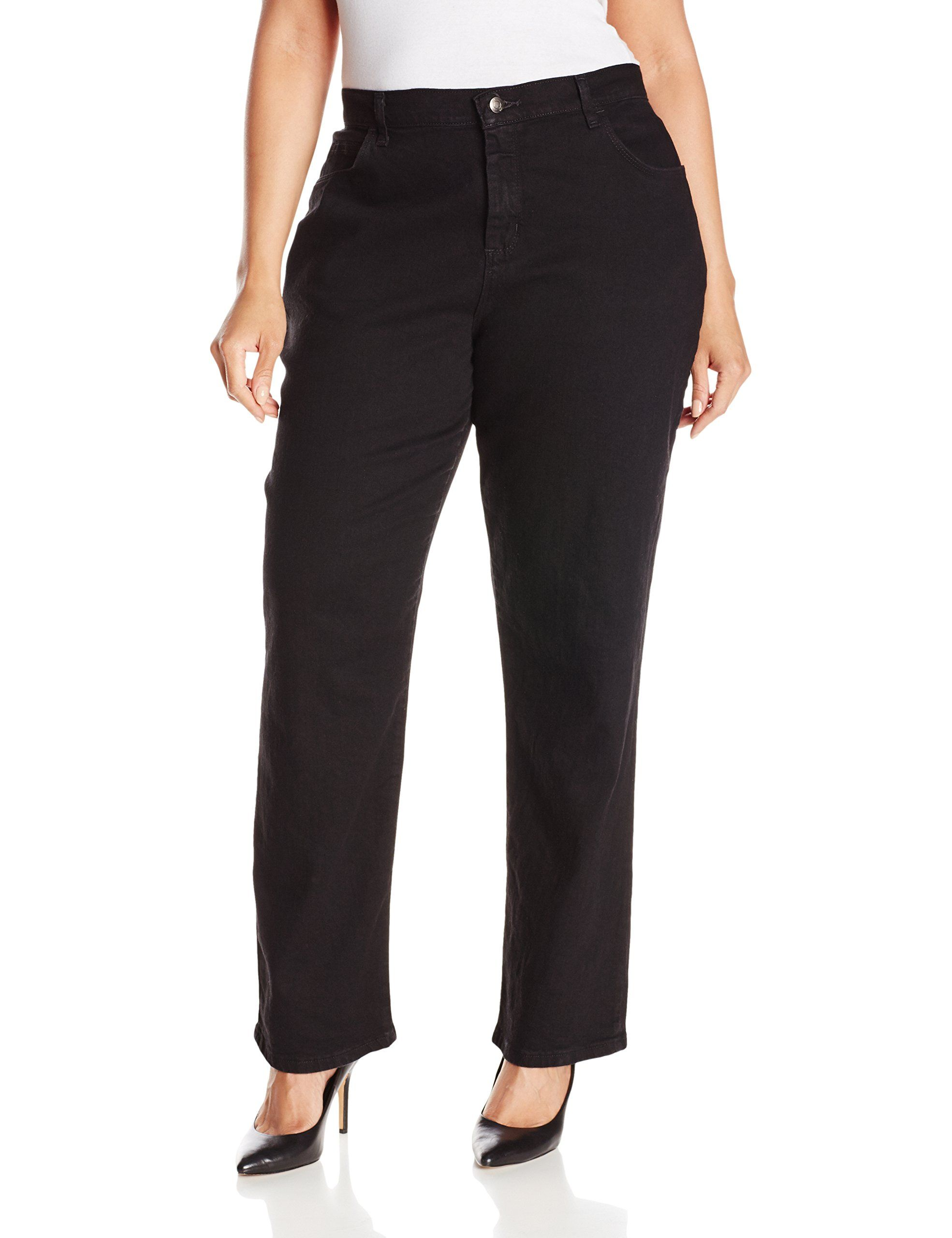 Lee womens plussize relaxed fit straight leg jean