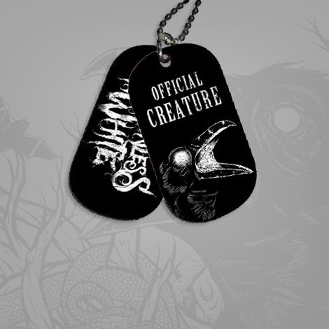 Motionless In White///Creatures Dog Tags
