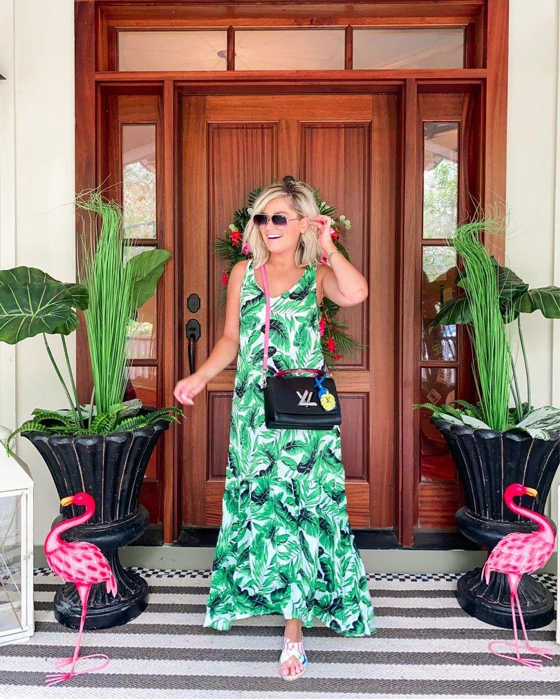 Walmart Summer Fashion Haul Outfits Under 50 Fashion Maxi Dress Walmart Fashion [ 1012 x 810 Pixel ]