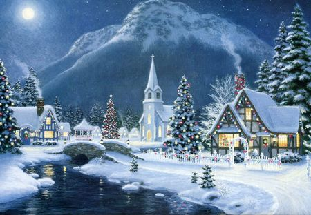 christmas snow scenes pictures - Google Search Christmas Pictures