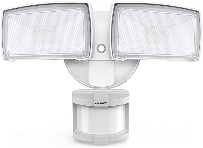 Lepower 28w Led Security Lights Motion Sensor Light Outdoor 3000lm Flood Light Dusk To Dawn In 2020 Motion Sensor Lights Outdoor Motion Sensor Lights Security Lights