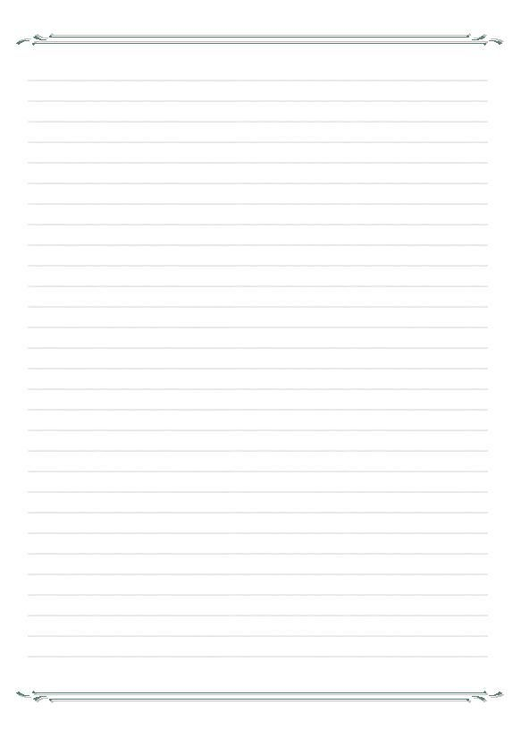 Papier à Lettre à Graphisme à Télécharger Et à Imprimer Printable