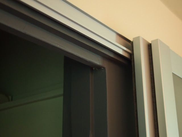 Pax Closet Doors No Bottom Rail Ikea Sliding Door Sliding