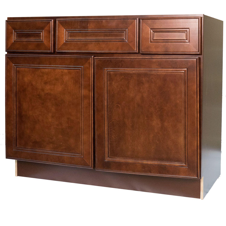 Best 42 Inch Bathroom Vanity Single Sink Cabinet In Leo Saddle 640 x 480