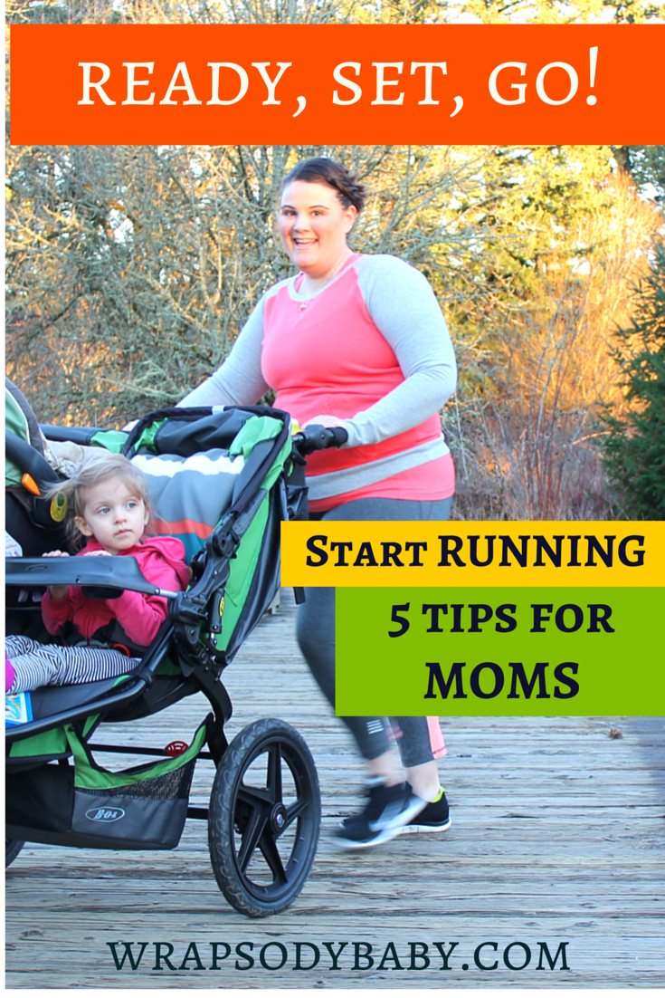 If you're a mom who wants to start running, these 5 tips will get you started right! Guest post by Lindsay Ingalls @naturallyfamily