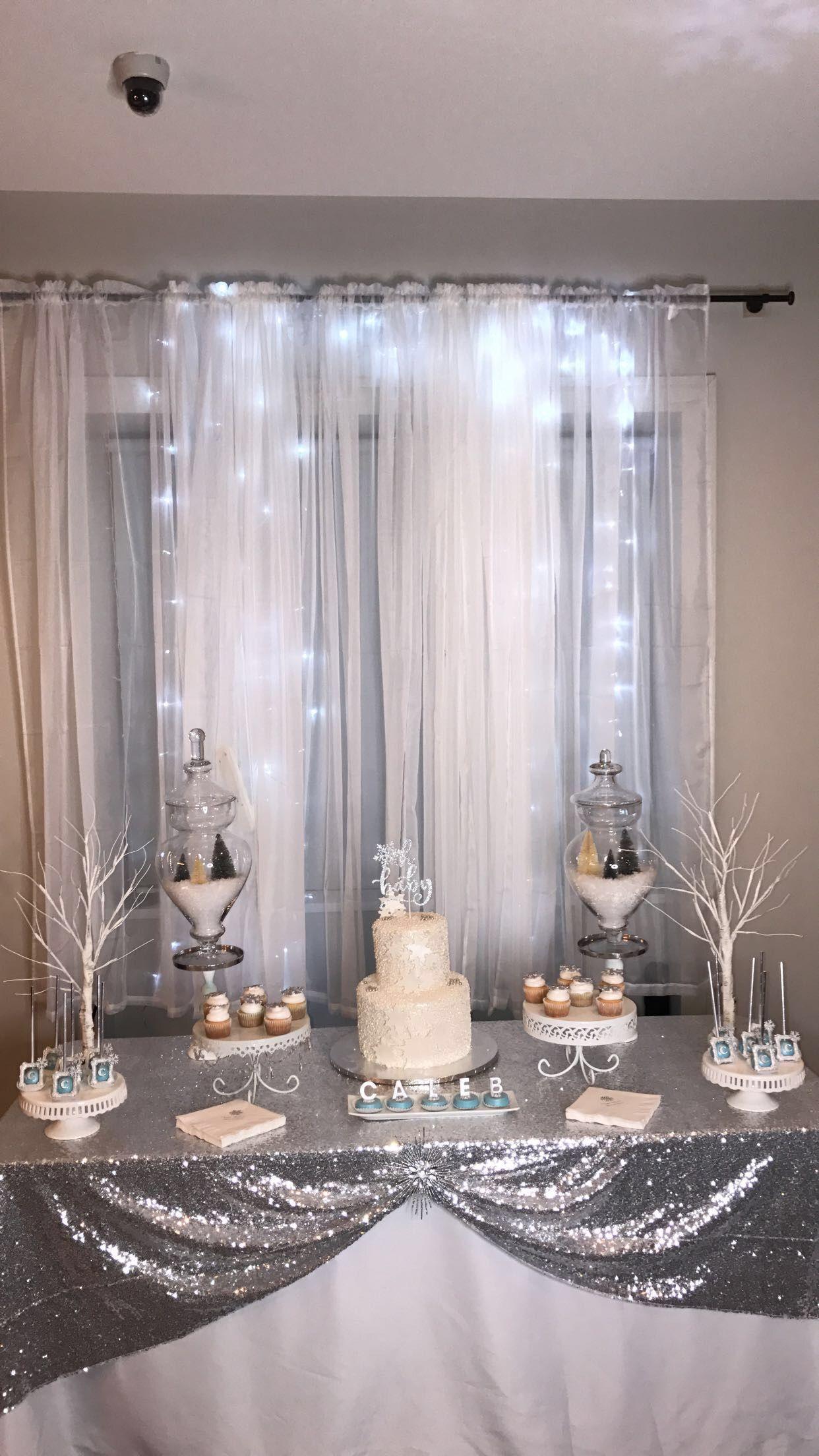 Diy Winter Wonderland Baby Shower Decorations  from i.pinimg.com