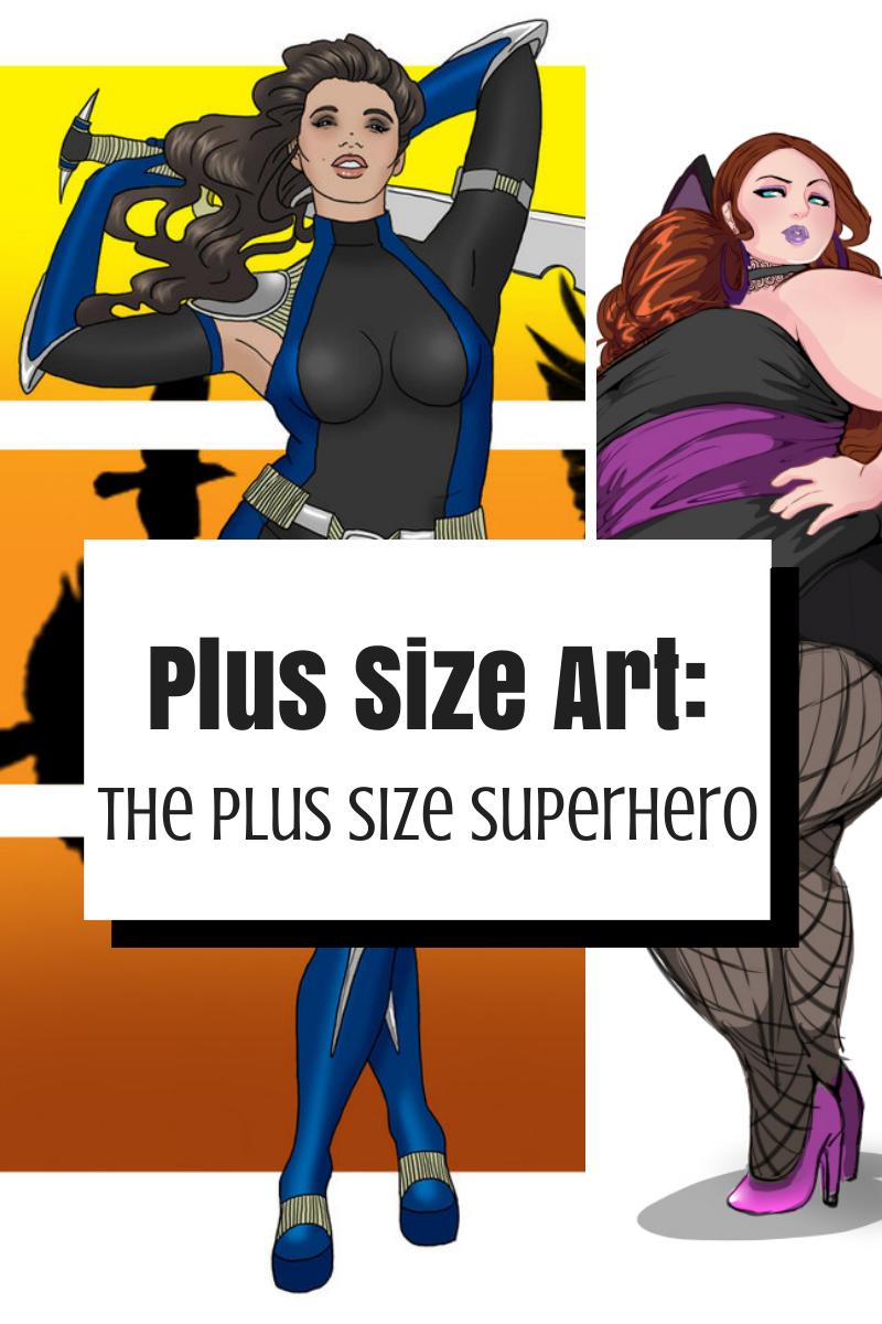 plus Size Illustrations by Steffi Schuetze | Beautiful Plus ...