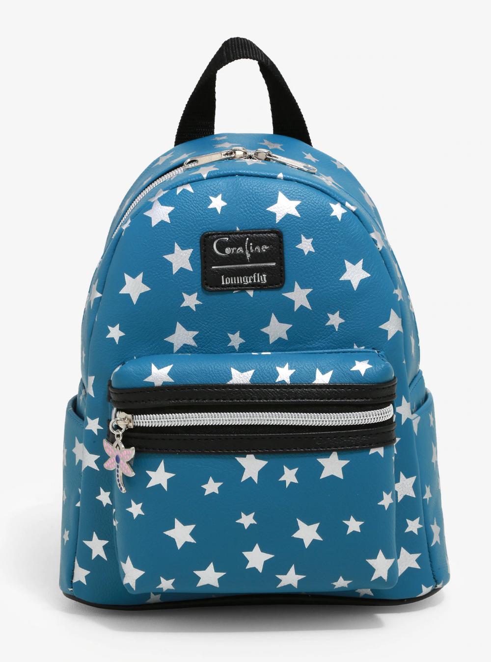 Loungefly Coraline Stars Mini Backpack Cute Mini Backpacks Coraline Mini Backpack