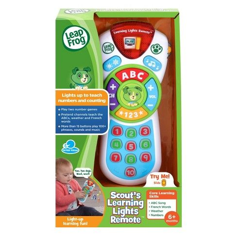 Educational Toy For Toddlers Learning Remote LeapFrog Baby Developmental Musical
