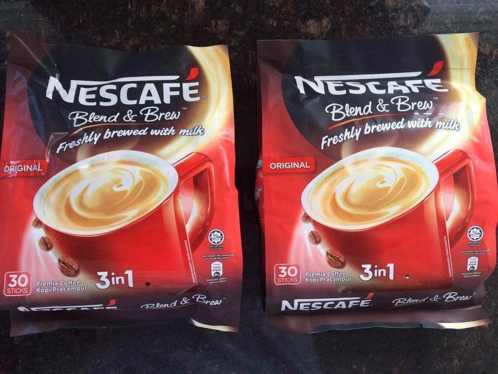Details about 2 nescafe 3in 1 originalregular 56ct