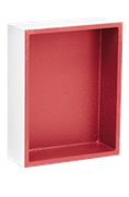 RedGard tileable shower niches from Custom Building Products come in three different sizes.