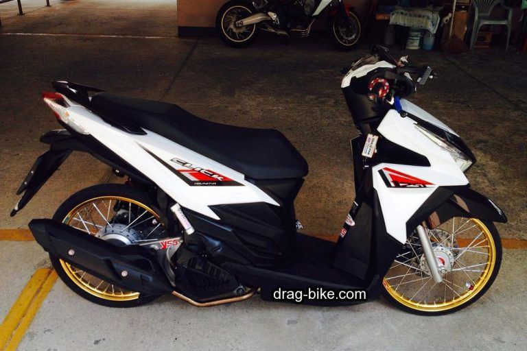 Modifikasi Vario 125 Thailand Warna Putih Mobil Honda Thailand