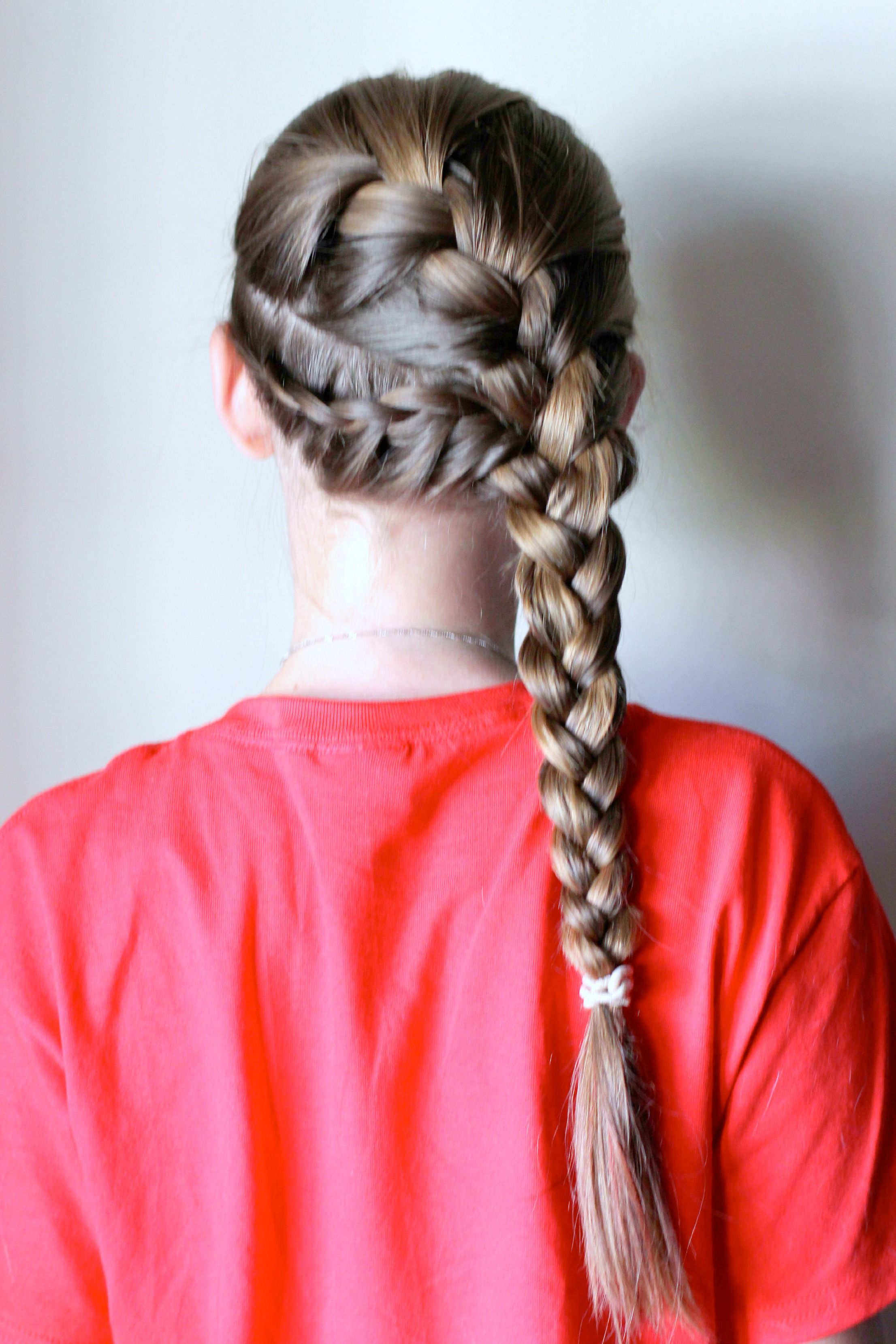 soccer hairstyles long hair