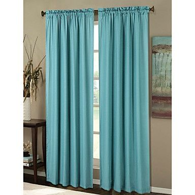 tiffany blue curtains | Tiffany blue curtains! | Bedroom ideas ...