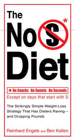 No Snacks. No Sweets. No Seconds.*    *Except on days that start with S (Saturdays, Sundays, and Special days).     Developed by a problem-solving software engineer who was tired of diets thatare too hard to stick with, The No-S Diet has attracted a passionate followingonline thanks to its elegant simplicity-and its results. Unlike fad dietsbased on gimmicks that lead to short-term weight-loss followed by backslidingand failure, The No-S Diet is a maintainable life plan that reminds us of thecom