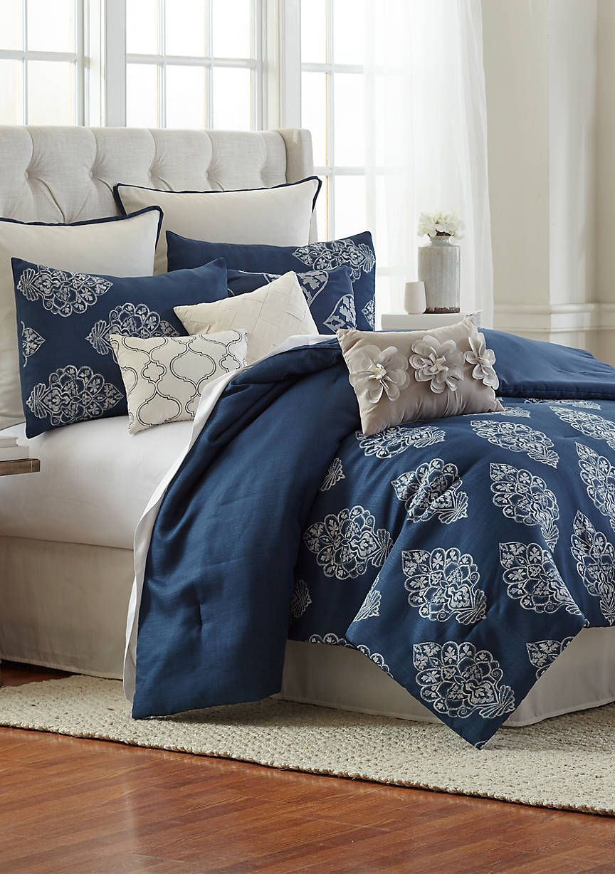 Modern Southern Home Florence 10 Piece Comforter Bed In A Bag