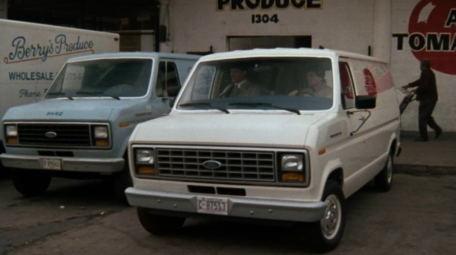 1983 Ford Econoline E 150 In Spies Like Us 1985 Cars Movie