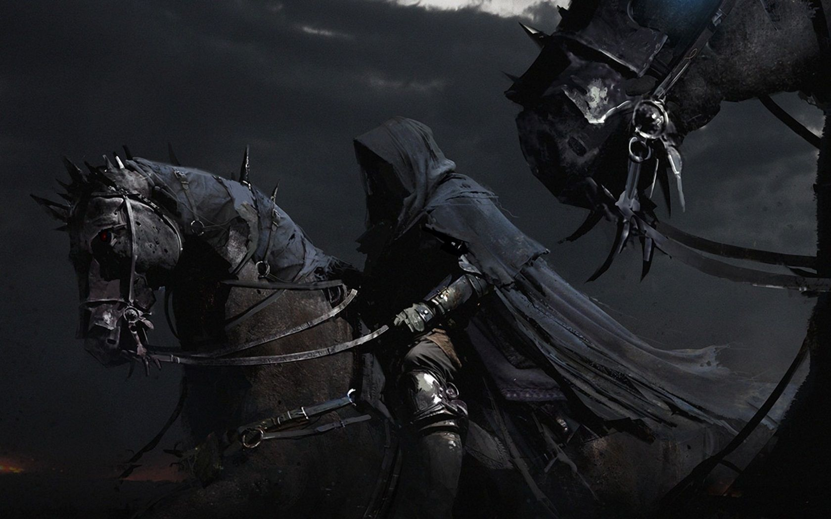 Nazgul Horse Wallpaper Dark Wallpaper Dark Art