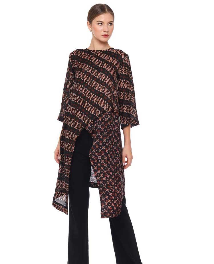 Model Baju Batik Terbaru 2019