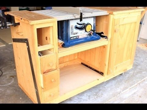Prime How To Build A Table Saw Bench And Diy Table Saw Workstation Home Interior And Landscaping Eliaenasavecom