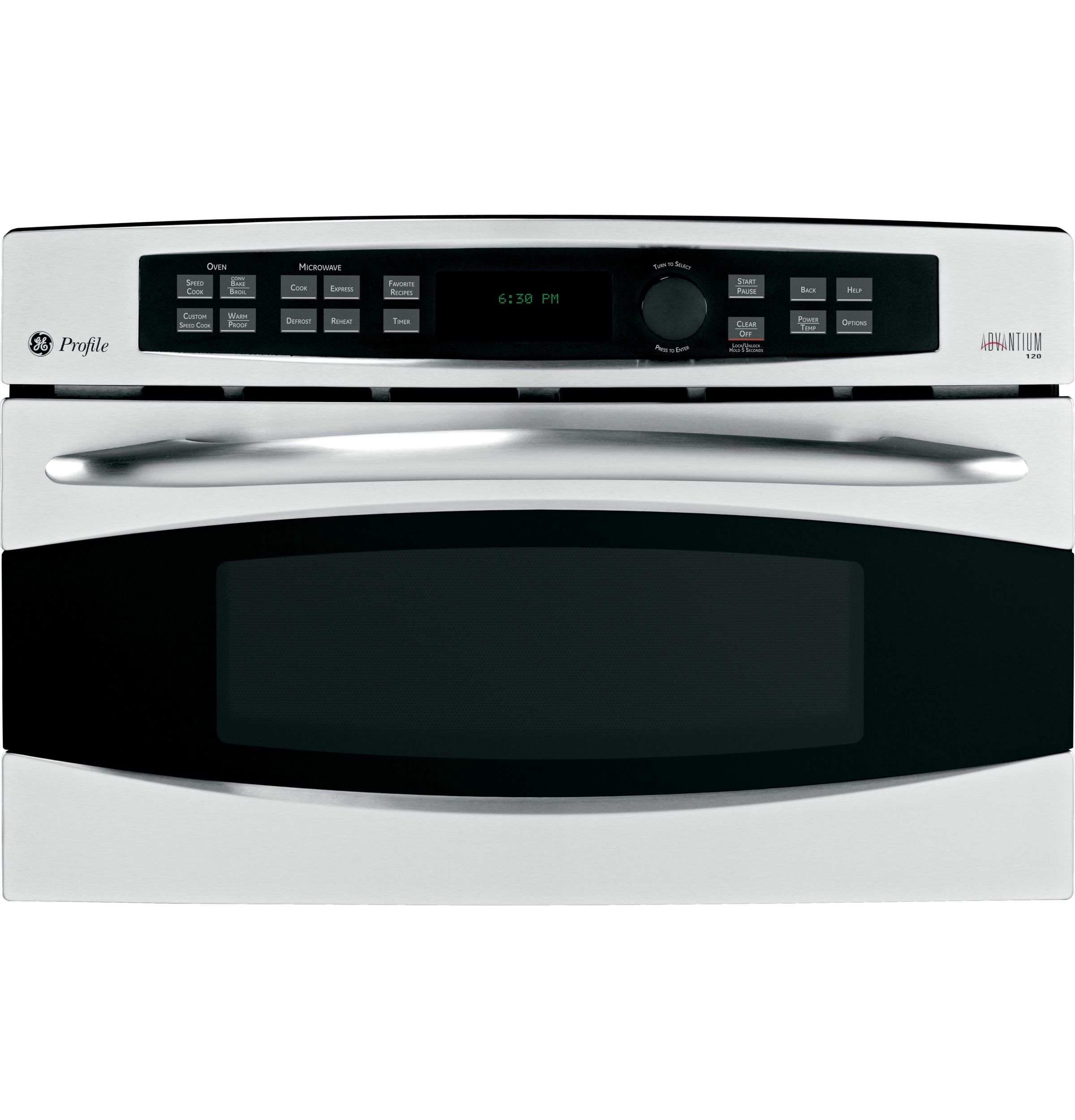 psb1201nss ge profile series advantiuma 120v 30 in wall oven