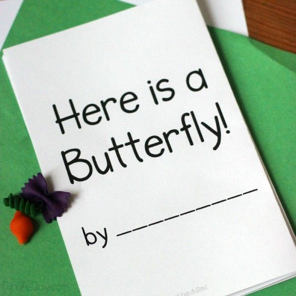 Butterfly Life Cycle Printable Book