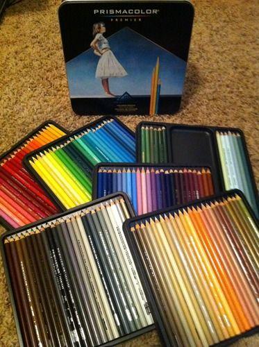 Prismacolor Premier Soft Core 48 Colored Pencils Set Writing Office Supplies Art