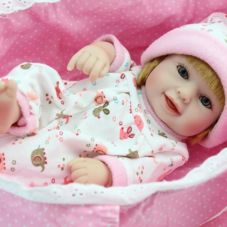 Mini Reborn Baby Dolls 10 Inch Toys Age 2 5 Reborn Baby Dolls Baby Dolls Reborn Babies