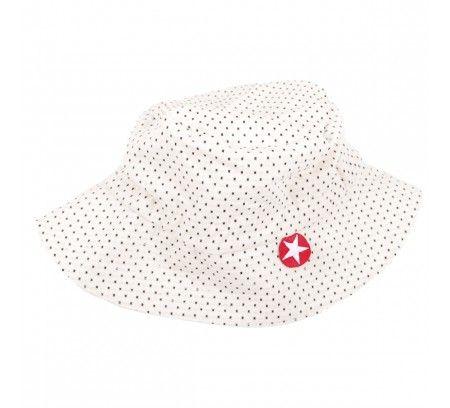 Hat Dots White - Kik-Kid