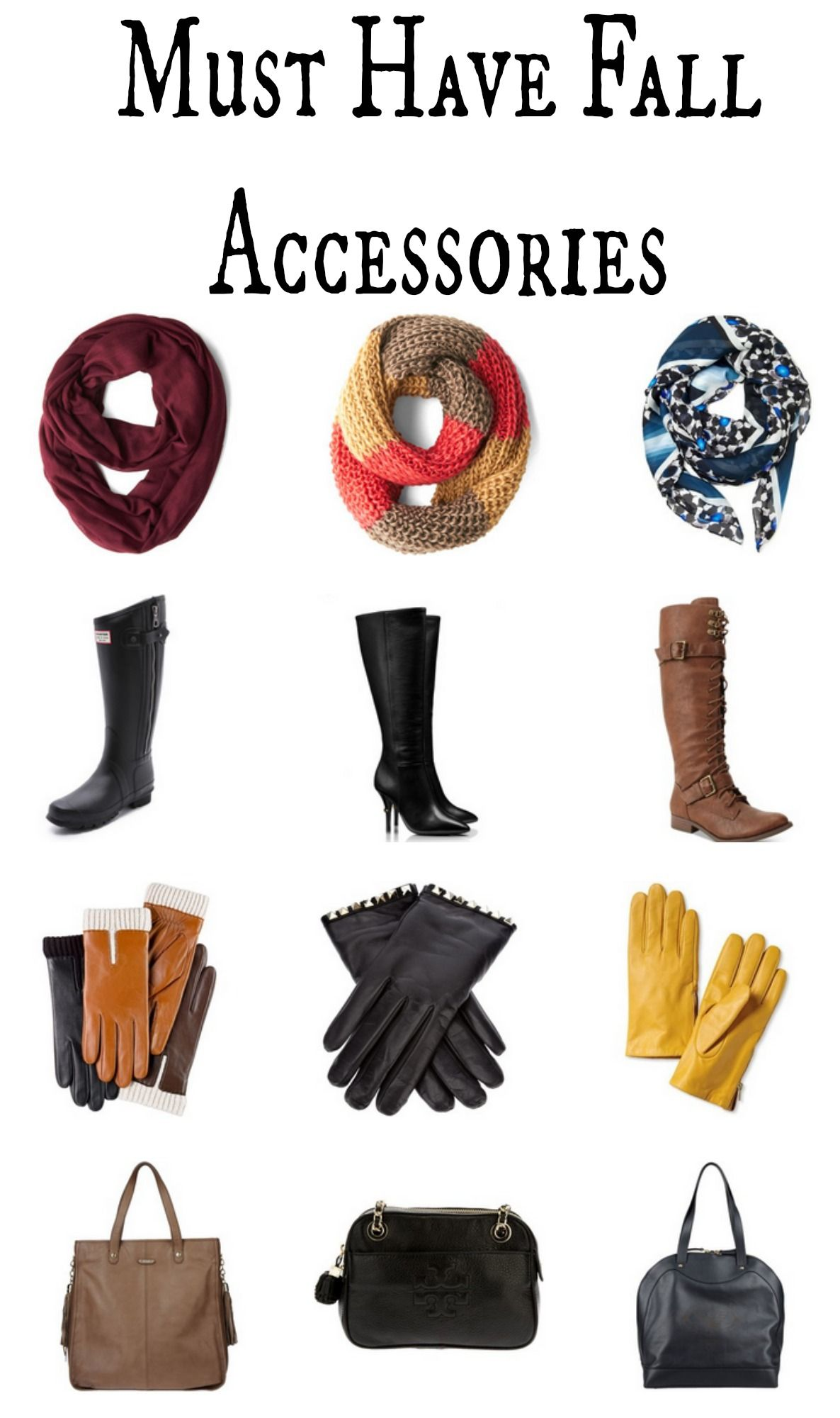 Have must accessories for fall