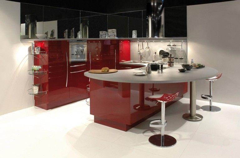 Kitchen Design Gorgeous Kitchen Set In Modern Design With Dining