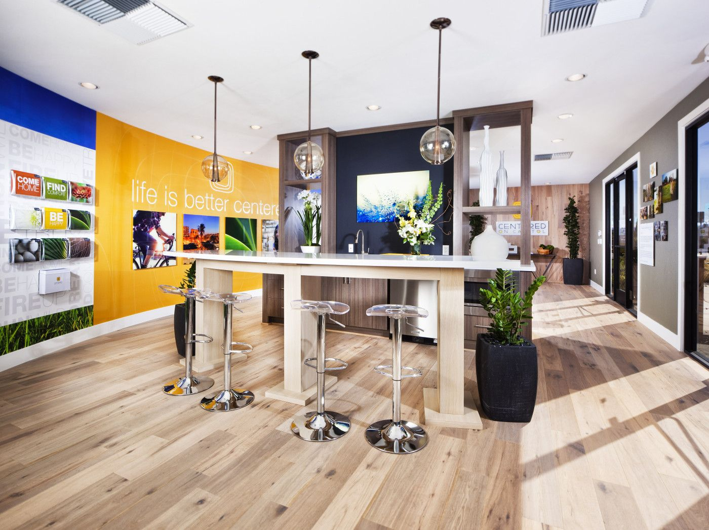 amelia sales office design. Centered Sales Office Design And Install « Marketshare Inc. \u2013 Marketing, Signage Amelia E