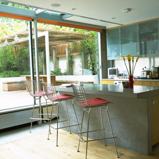 Indooroutdoor Kitchen A Place To Cook Pinterest Indoor Mesmerizing Indoor Outdoor Kitchen Designs