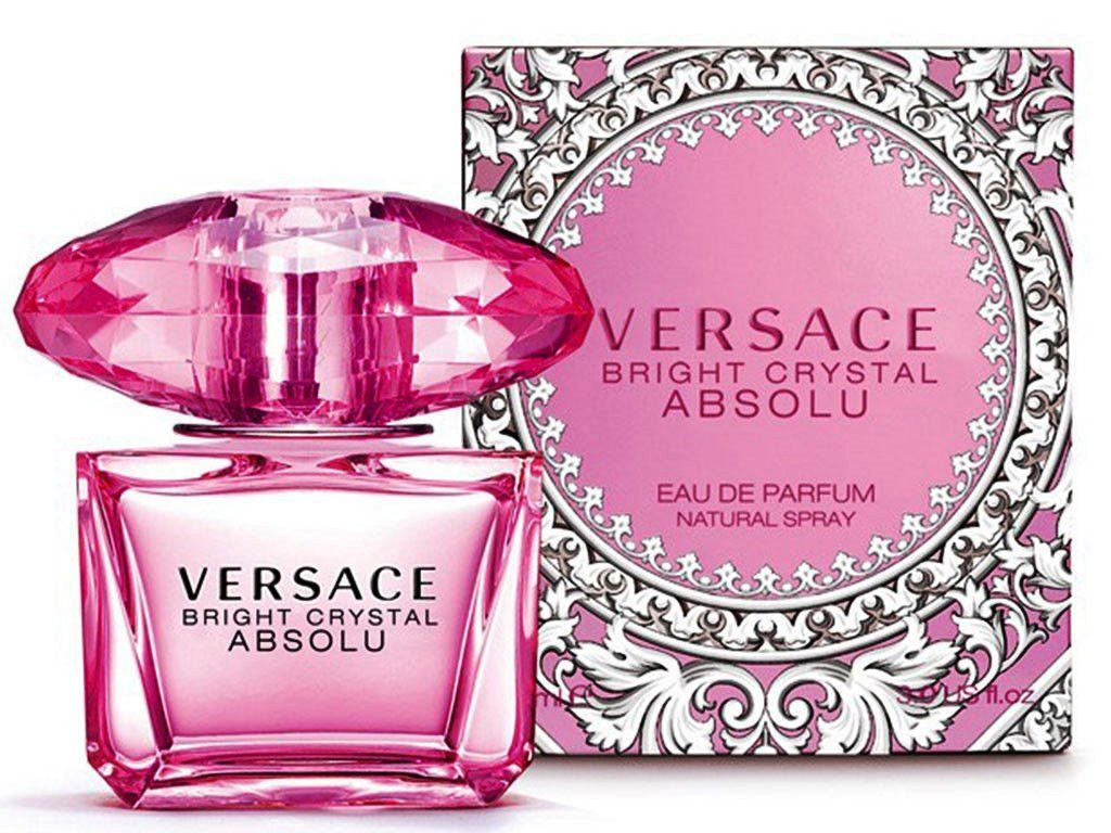 Bright Crystal Absolu by Versace 3.0 oz for Women -