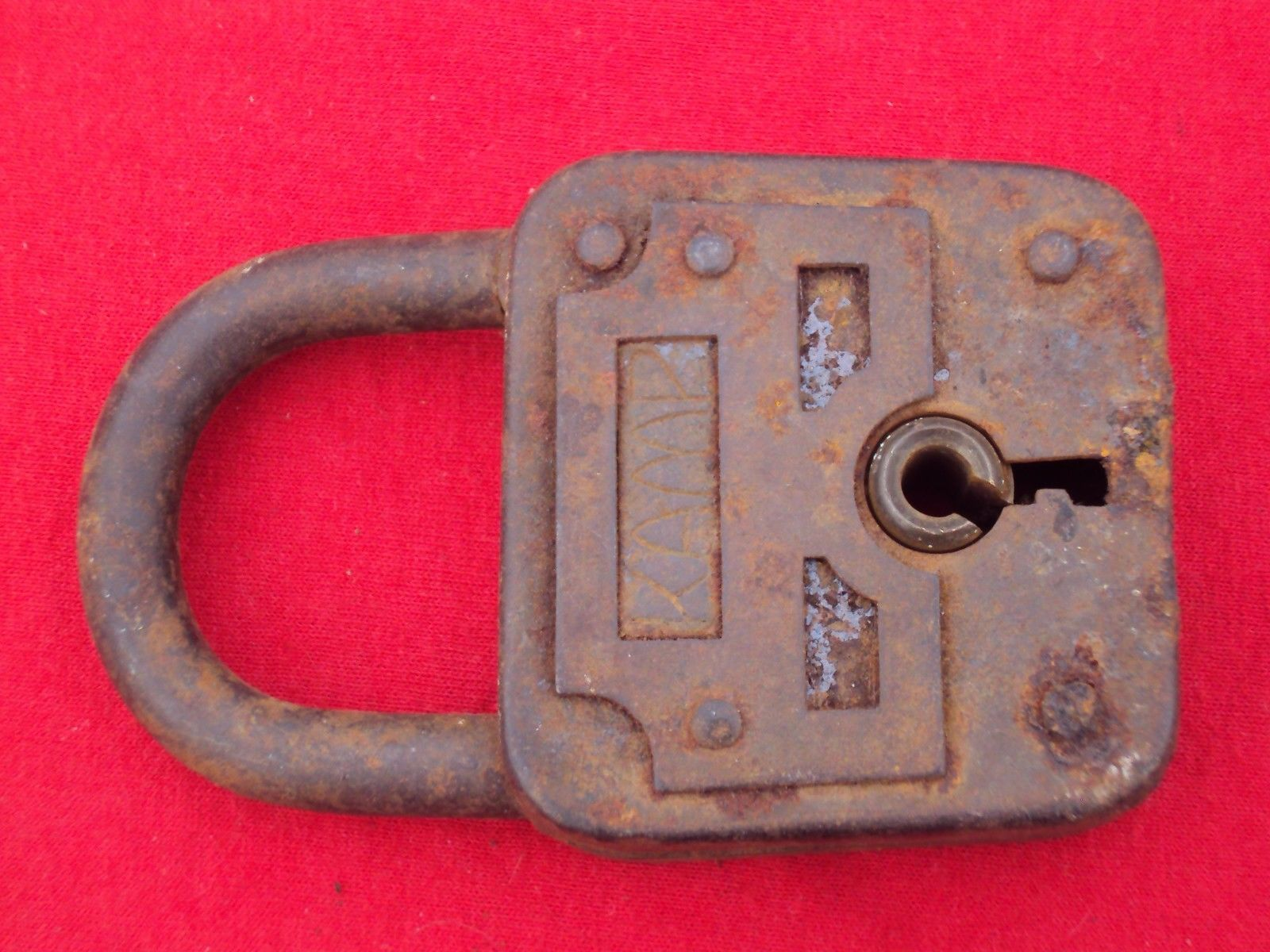 #Antique Rare Kamp Lock ~ Vintage Lock ~ Antique Lock