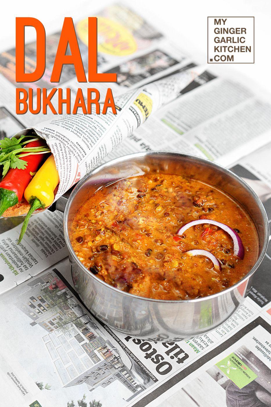 RECIPE] DAL BUKHARA – AN EXOTIC CREAMY BLACK LENTIL DISH | Food ...
